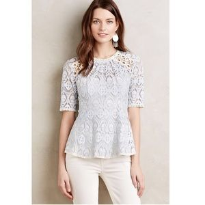 Anthropologie HD in Paris signa lace top